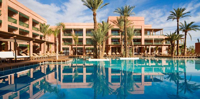 Palmeraie hotel du golf pro golf travel for Design hotel marrakech